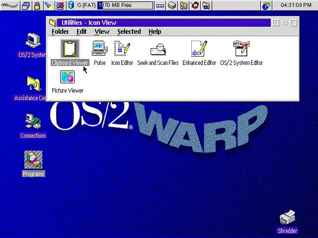OSome GUI Gallery - OS/2 Warp 4