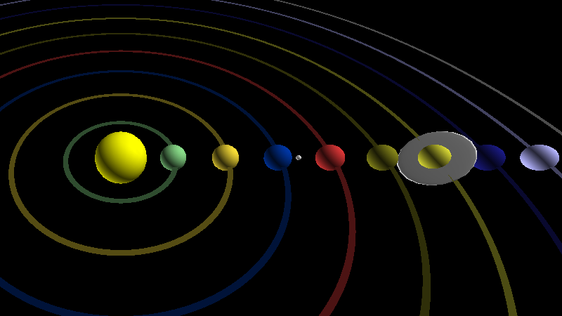 desktop solar system model - photo #6